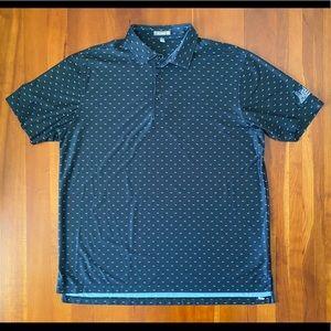EUC Peter Millar Summer Comfort Sword Golf Shirt